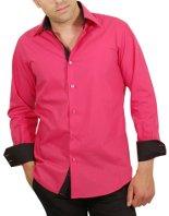 Belle chemise rose dans Chemise homme chemise-fashion