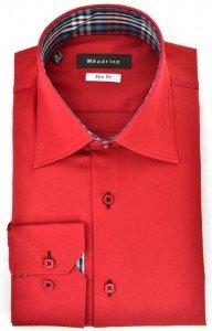 Les chemises tendances de la marque Méadrine dans Chemise homme chemise-rouge-meadrine-opposition-carreaux-192x300